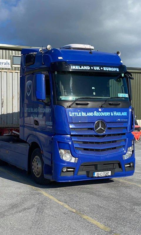 Haulage Trucks Cork